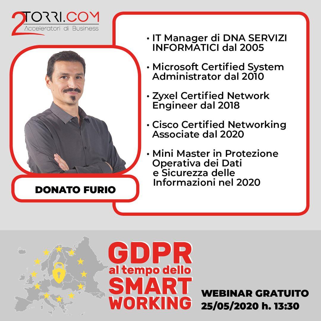 Donato Furio, DNA SRL per 2Torri.com